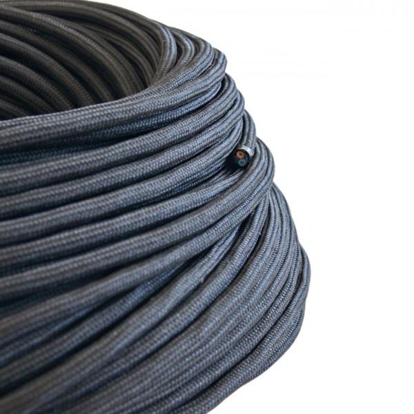Textilkabel-Retro-Stoffkabel-Pendelleitung-2x0,75-schwarz