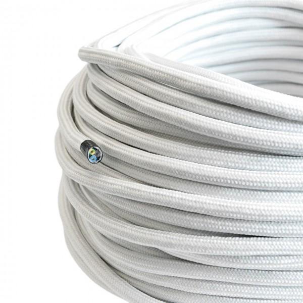Textilkabel-Retro-Stoffkabel-Pendelleitung-3x0,75-weiss