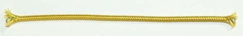 Einadrig textilumfl. Leitung 1x0,75qmm gold
