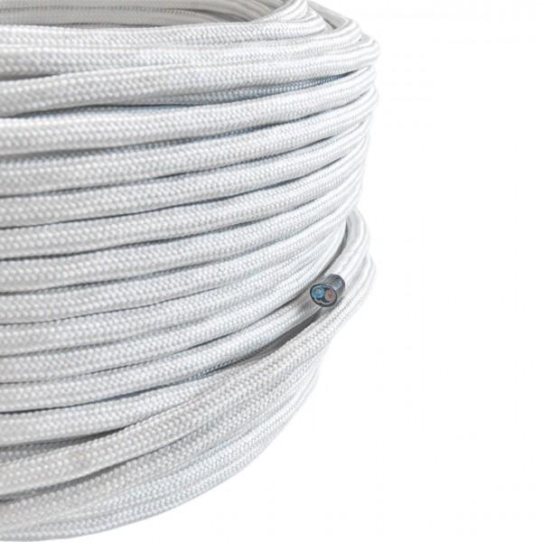 Textilkabel-Retro-Stoffkabel-Pendelleitung-2x0,75-weiss