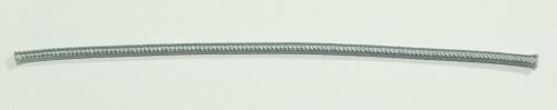 Einadrig textilumfl. Leitung 1x0,75qmm silber