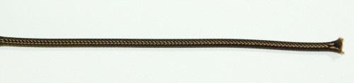 Einadrig textilumfl. Leitung 1x0,75qmm braun